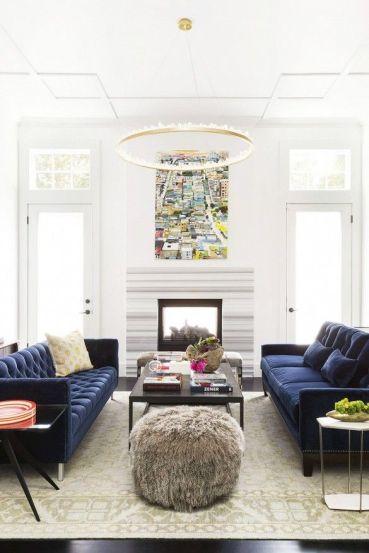Facing Sofa via Domaine Home