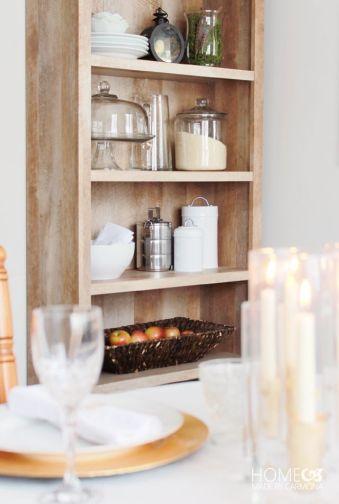 Crossmill Bookcase--kitchen
