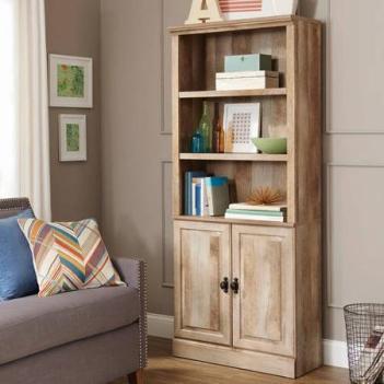 Crossmill Bookcase with Doors