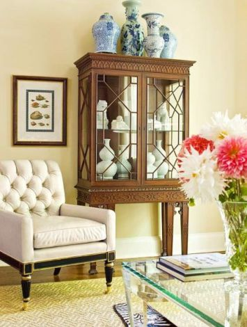 Decorating Bookcase and Armories1