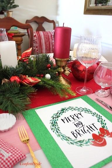Merry & Bright Tablescape-5