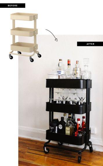 storage product inspiration raskog utility cart confettistyle. Black Bedroom Furniture Sets. Home Design Ideas