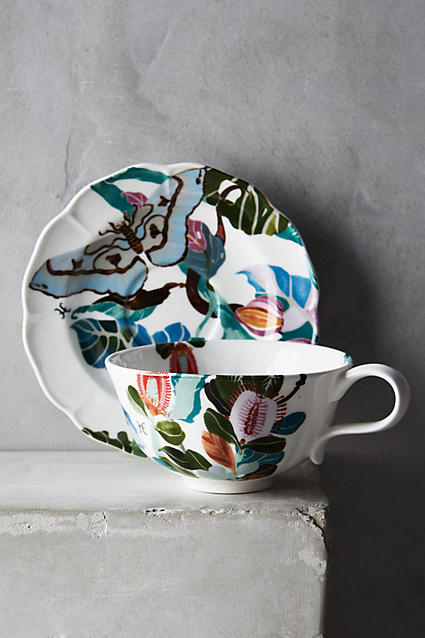 Paradis Found Cup and Saucer