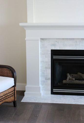 Empty Fireplace Nook