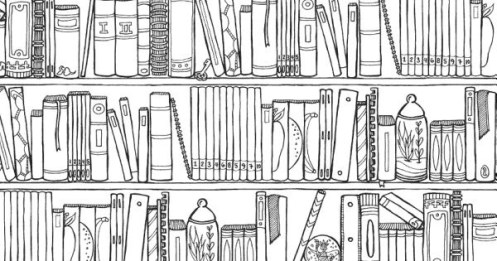 Off The Bookshelf Coloring Books