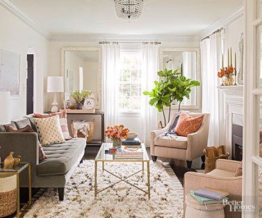 A Well-Styled Room from Better Homes and Gardens