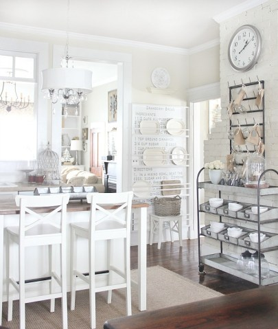 farmhouse kitchen organization