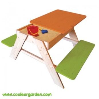 table-pique-nique-avec-bac-a-sable-pour-enfant