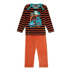 14H5PGQ3PYJ_E400_Pyjama_orange_en_velours_eponge_garcon-2-7-ans_Sergent-...