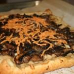 VeganMoFo: Mushroom and White Bean Tart