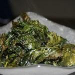 VeganMoFo: Crispy Oven Roasted Kale