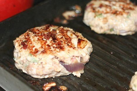 Burgers-Grilling