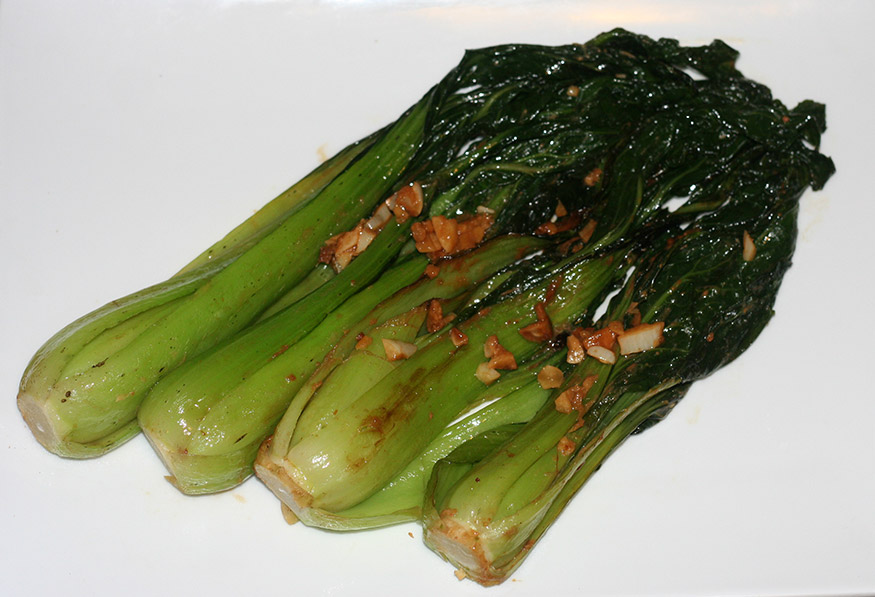 Red Miso Braised Baby Bok Choy Confident Cook Hesitant Baker