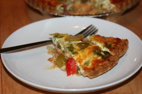sliced-quiche