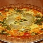 Tomatillo Quiche