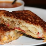 Creamy Tomato Soup & Loaded Grilled Cheese