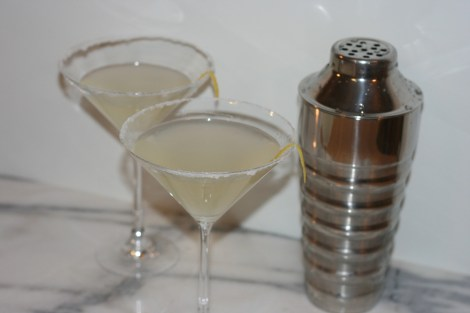 Lemon-Ginger-Martini