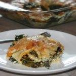 Butternut Squash & Kale Lasagna