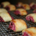 Raspberry & Chocolate Cream Cheese Rugelach + Baking Chez Moi Review