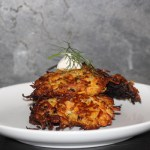 Sweet Potato & Fennel Latkes