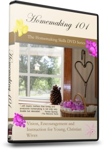Homemaking 101 DVD for Christmas?