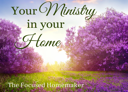 Your Ministry In Your Home