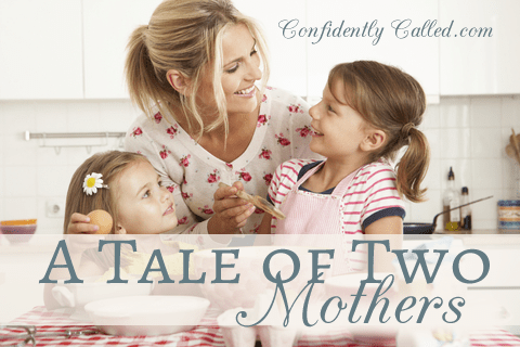 A Tale of Two Mothers-How to Be Un-Overwhelmed