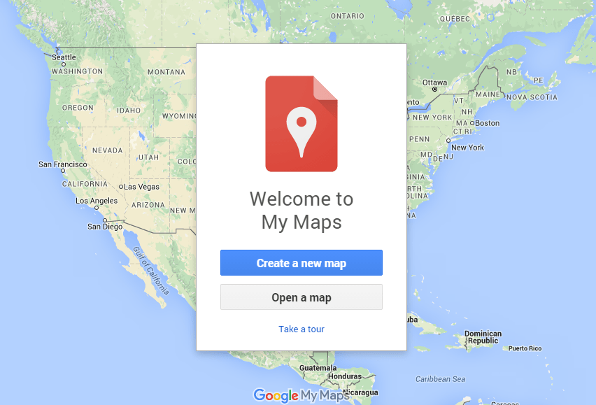 Google My Maps in Local Search Results