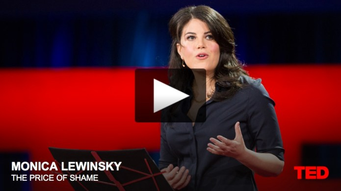 monica lewinsky ted talk image