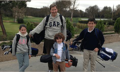 El Golf, El Hándicap Y Las Relaciones Con Mi Hijo