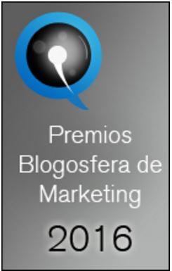 Nominado A Los Premios De La Blogosfera De Marketing 2016