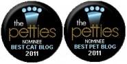 2011 Petties Best Cat Blog Best Overall Pet Blog