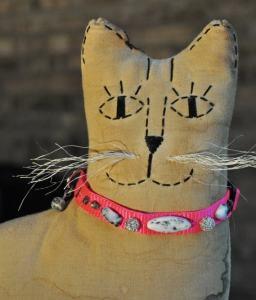 gemstone cat collar