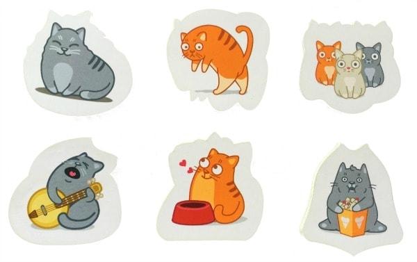 cat-sticky-notes