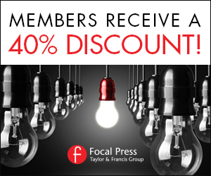 Focal Press 40% Discount Banner