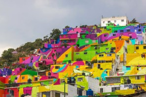 The Power of Color: Palmitas, Mexico