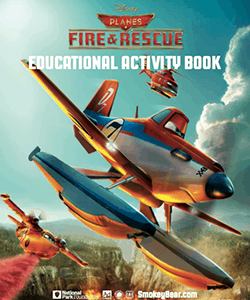 Disney's Planes Fire & Rescue Educational Activity Book Download!