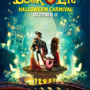 The Book Of Life Movie- Halloween Carnival at Dolphin Mall Miami Oct.11