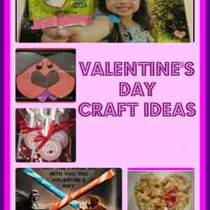 Valentine's Day Crafts & Ideas for Kids