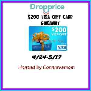 $200 Visa Gift Card Giveaway ends 5/17