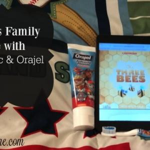 Bedtime is Family Time with Scholastic & Orajel™ #Read2ME