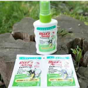 BUZZ Away Bugs Naturally this Summer with Buzz Away Extreme! #bugfreefun