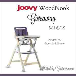 Joovy WoodNook Review & Giveaway ends 6/19