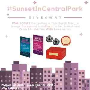 Sunset In Central Park Themed Giveaway ends 9/10