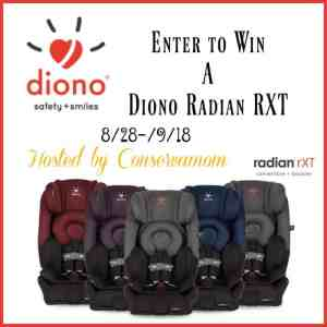 September is Baby Safety Month + Diono Radian RXT Giveaway