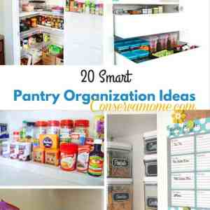 20 Smart Pantry Organization Ideas