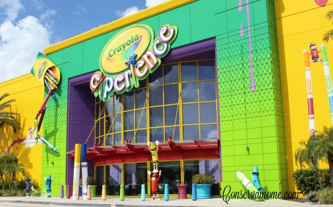 Entrance to The Crayola Experience