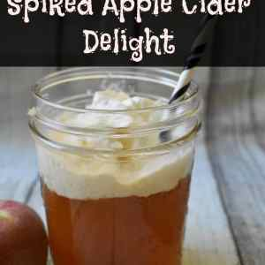 Spiked Apple Cider Delight