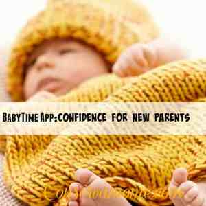 BabyTime App:Confidence for New Parents