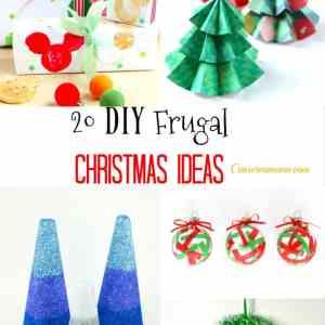 20 DIY Frugal Christmas Ideas